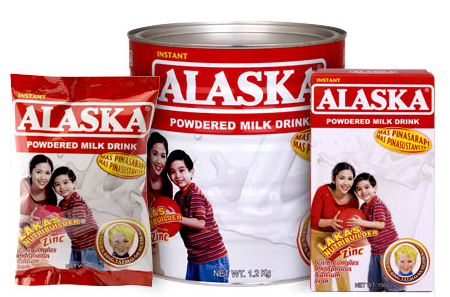 FOREIGN FIRM DRINKS UP ALASKA. Picture courtesy of www.alaskamilk.com.