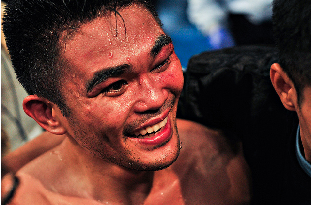 TOUGH WARRIOR. Will Brian Viloria pull off his first win against Omar Nino Romero? December 11, 2011. Oliver Lucas.
