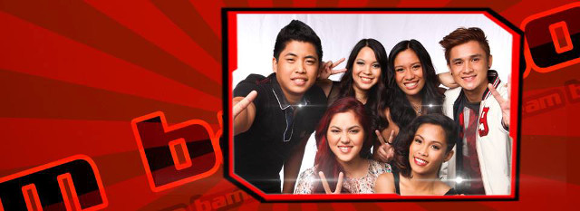 THAT GIRL IS GONE. Talia (back, 2nd from left) is the first live-show casualty of Team Bamboo, which is now left with (clockwise from left) live-show winner Myk, live-show survivor Lee Grane, Paolo, Angelique and Isa