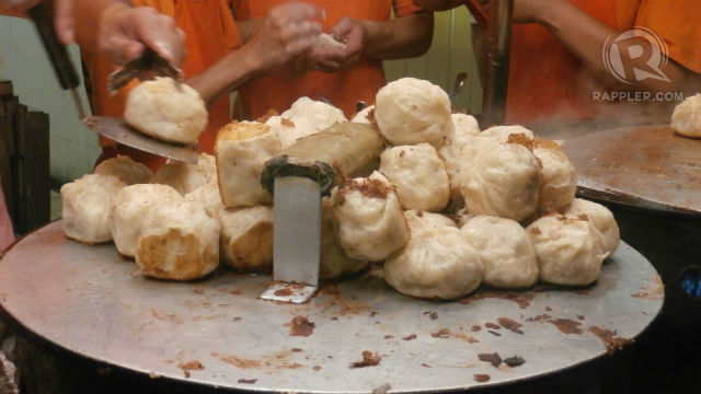 3. SHUI JIAN BAO OR PAN-FRIED DUMPLINGS
