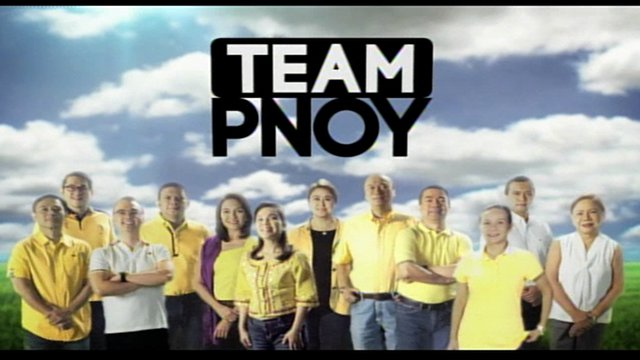 TUWID NA DAAN. The first television ad of Team PNoy used President Benigno Aquino's voice. SCREENSHOT of the Team PNoy commercial
