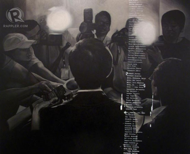 UNDER CONTROL. From Carlo Gabuco's solo show Subdued for Now Gallery.