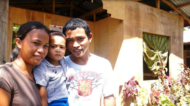 FRESH START. Over 500 families in Bohol move in their new homes after living in temporary shelters. All photos from World Vision