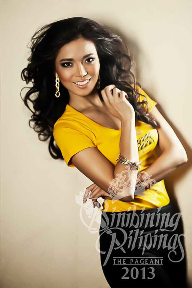 BINIBINI 3, ZANDRA FLORES. Beauty and brains, Zandra is proud to be a caring and passionate Filipina. Photo courtesy of Araneta Center Marketing