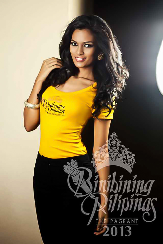 BINIBINI 13, CHARMAINE ELIMA. Even before Binibining Pilipinas, Charmaine already holds two pageant titles. Photo courtesy of Araneta Center Marketing