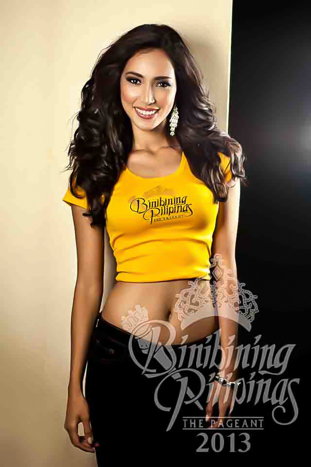 BINIBINI 20, BEA ROSE SANTIAGO. Despite growing up in a foreign land, Rose is in touch with her roots by promoting her province. Photo courtesy of Araneta Center Marketing