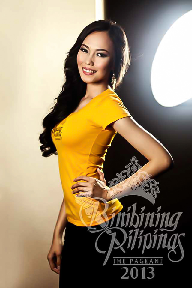 BINIBINI 30, MARIA THERESA GORGONIO. Well traveled Theresa believes her experience abroad gives her an edge in the competition. Photo courtesy of Araneta Center Marketing