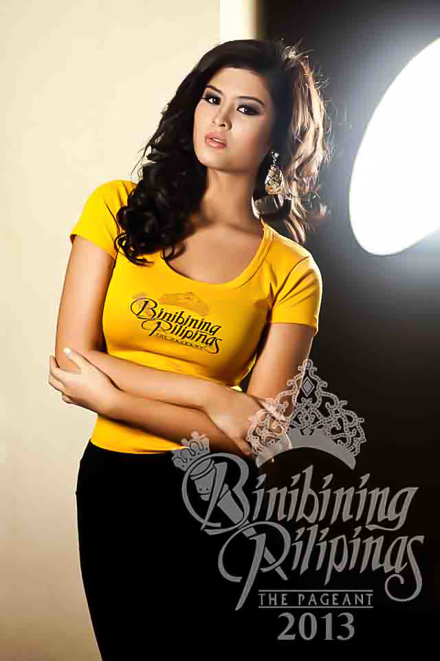 BINIBINI 31, MARIA ANGELICA DE LEON. Mariel is determined to make a name for herself in fashion and modeling. Photo courtesy of Araneta Center Marketing