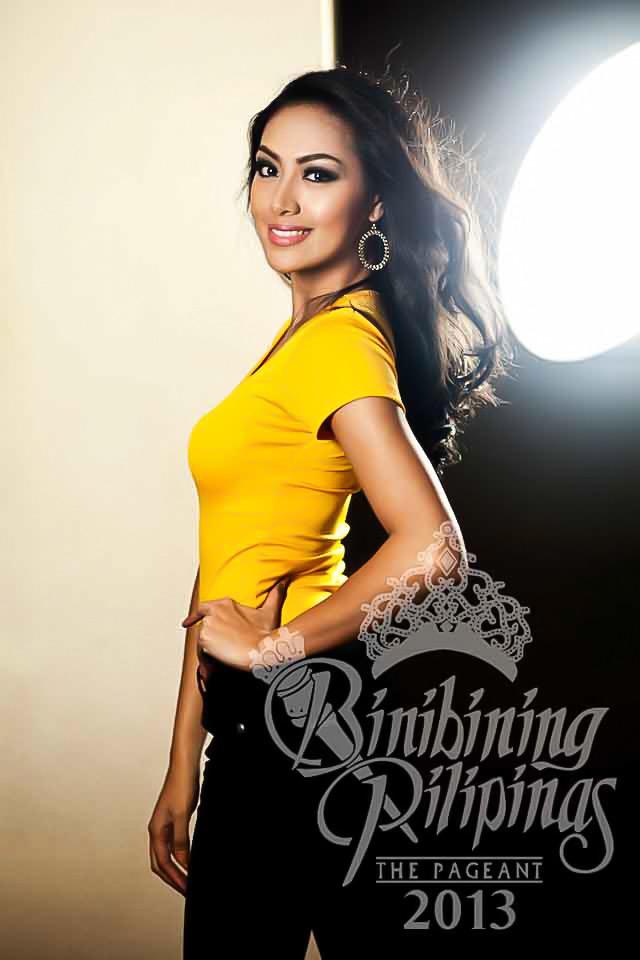 BINIBINI 34, GRACE YANN APUAD. At 13, Grace had already broken into the modeling industry. Photo courtesy of Araneta Center Marketing