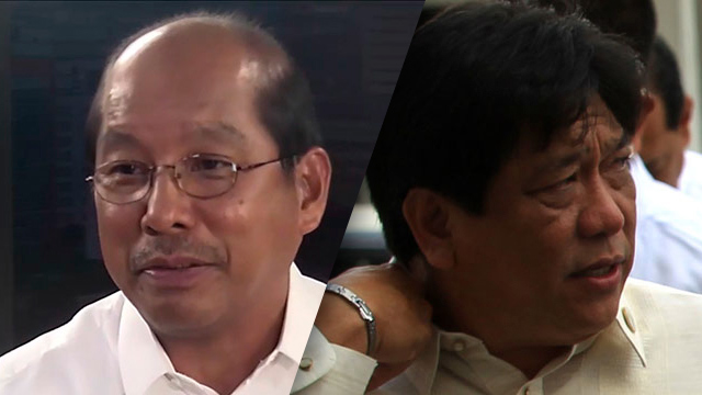 AQUINOu2019S MEN. Cabinet Secretaries Butch Abad (left) and Proceso Alcala (right) are both tagged in the pork barrel scam. Rappler file photo of Abad; Alcala file photo courtesy of the Malacau00f1ang Palace