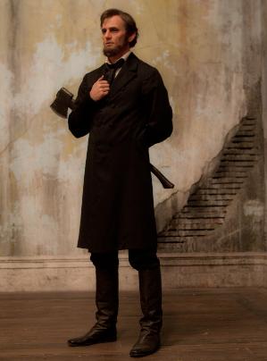 STATESMAN, AXEMAN. Benjamin Walker as the iconic honest Abe