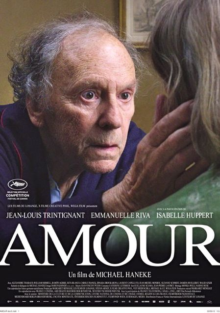 THE POSTER OF 'AMOUR' from the movie's Facebook page