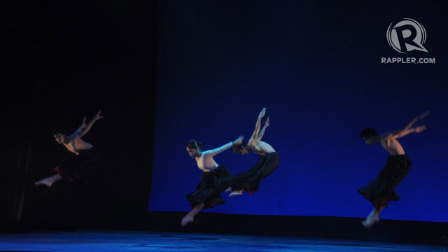 ENTHRALLING. The Halili-Cruz Ballet Company performs an award-winning dance