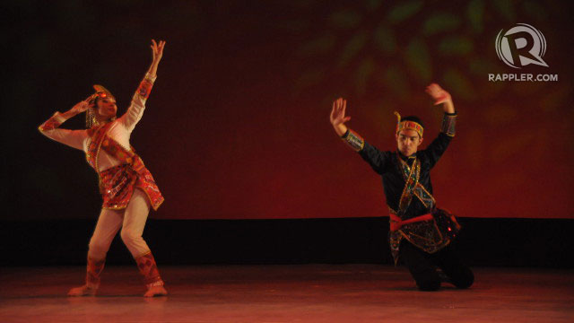 WINNING PERFORMANCE. Irina Feleo and Peter Laurent Callangan perform the dance that won them awards at the Cheonan World Dance Competition 2012