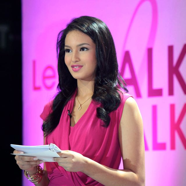 GMA 7's SARAH LAHBATI is the new face of breast cancer awareness
