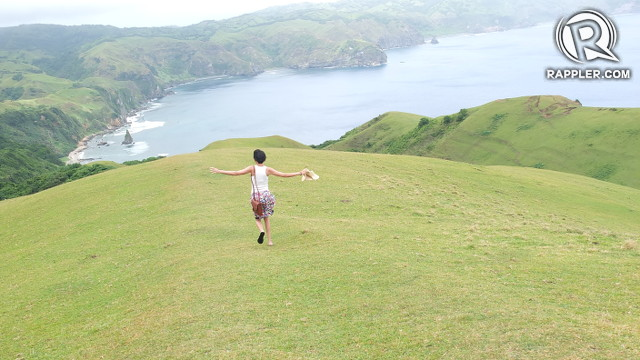 THE HILLS ARE ALIVE. Have the freedom to run through Batanes' emerald hills