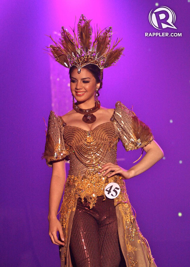 STARTING YOUNG. Imelda Schweighart is the youngest Binibining Pilipinas candidate at 17