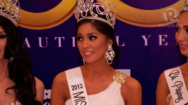 MISS UNIVERSE CANDIDATE. Ariella Arida must face the pressure of matching Miss Universe 2012 first runner-up Janine Tugonon's performance