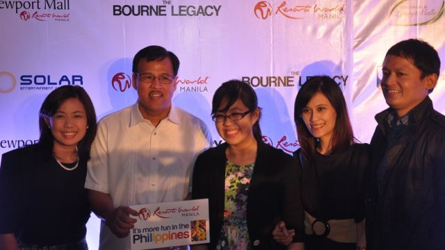DILG SECRETARY JESSE ROBREDO with other guests
