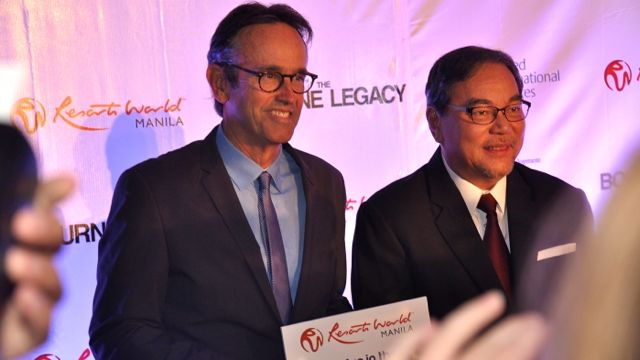 PRODUCER PATRICK CROWLEY WITH DOT Secretary Mon Jimenez