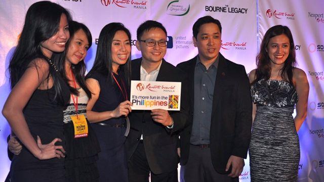 RESORTS WORLD MANILA's marketing team