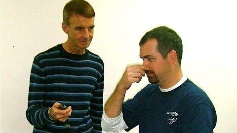 JAC TEACHES BREATHING THE Buteyko way. Photo from Jac Vidgen