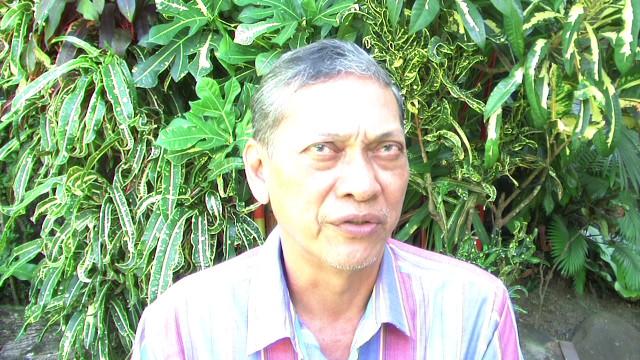 Retired Army colonel Agapito Cardino. Photo by Gualberto Laput