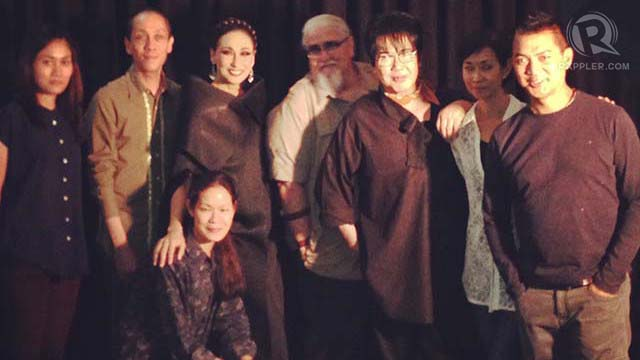 SHOOT. Part of pre-production is our photo shoot made up of the most creative minds like (from left to right) fashion designer and graduate of Slim's Riza Bulawan, Mark Higgins, myself, Peque Gallaga , Fanny Serrano , Sandy Higgins, Michael Salientes and Joan Bitagcol