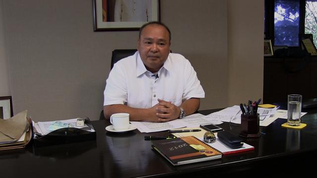 NHA General Manager Atty. Chito Cruz