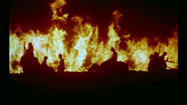 BURNING SENSATION. Oro, Plata, Matau2019s iconic, Gone with the Wind-recalling exodus scene