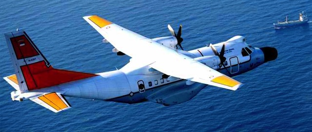 DISQUALIFIED: Indonesia's CN235-220 Maritime Patrol Aircraft. Photo from company website http://www.indonesian-aerospace.com/view.php?m=productu0026t=aircraft-detilu0026id=2