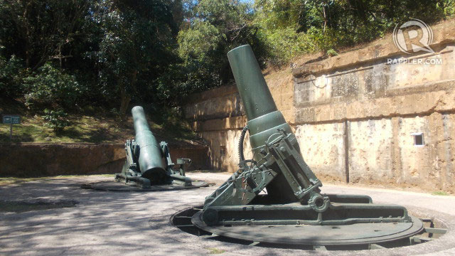 Corregidor's battery way