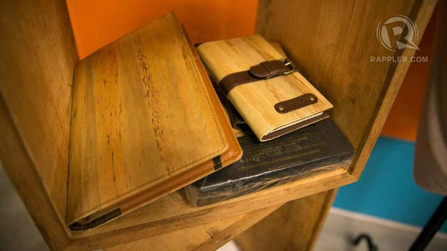 ECO-FRIENDLY NOTES. Jacinto u0026 Lirio notebooks are made of water hyacinth