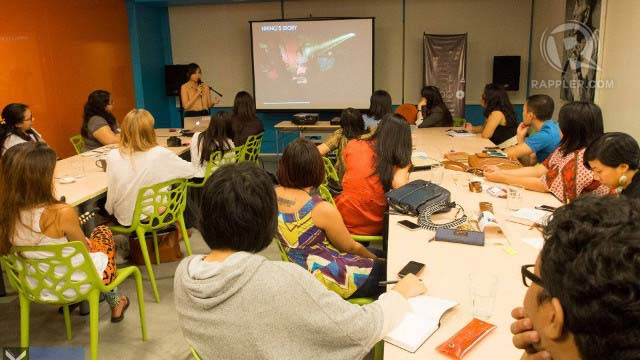 LEARNING TO SHOP. Muni PH held an eco-fashion workshop