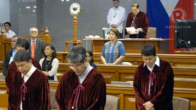 THEIR JUDGE. Villar says history will judge the Senate on the Corona impeachment trial. Photo by Joe Arazas/Senate pool