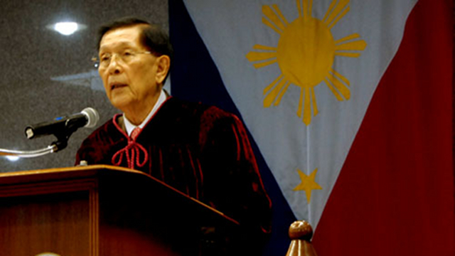 'DON'T DESTROY SENATE.' Senate President Juan Ponce Enrile tells Sen Miriam Defensor Santiago not to spread allegations against the Senate. File photo by Joe Arazas/Senate PRIB
