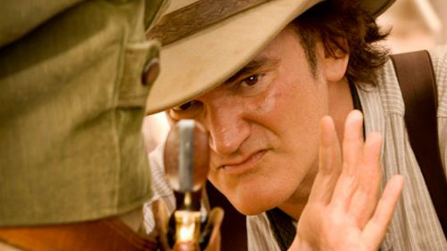CRITICIZED, APPRECIATED. Quentin Tarantino offers his 'Spaghetti Western' in homage to the directors of Italian westerns before him. Photo from the Quentin Tarantino Facebook fan page