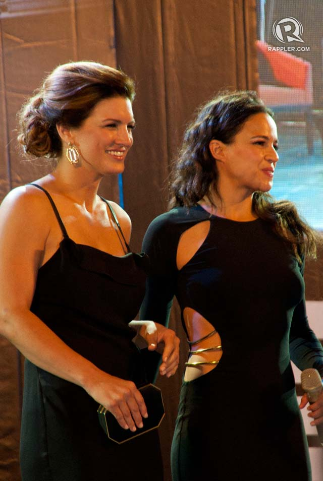 GIRL FIGHT. MMA fighter Gina Carano and Michelle Rodriguez will have a showdown in FF6, based on the trailer