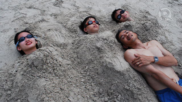 WE OWN THE BEACH! Well, not really, but we do own the time and moments we share there. Photo from Keisha Halili
