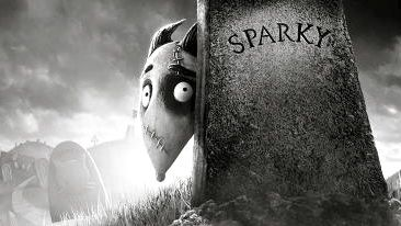 SPARKY IS THE FRANKEN-DOG in Burton's 'Frankenweenie.' Image from the movie's Facebook page