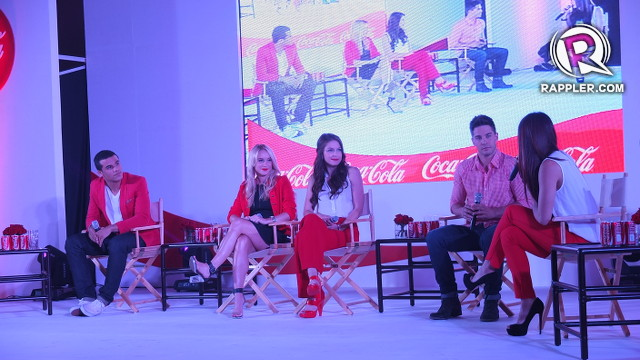 MUCH LOVE. The 'Glee' sophomore cast members are excited to meet their Filipino fans
