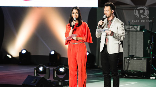 Hosts Bianca Gonzales and Billy Crawford