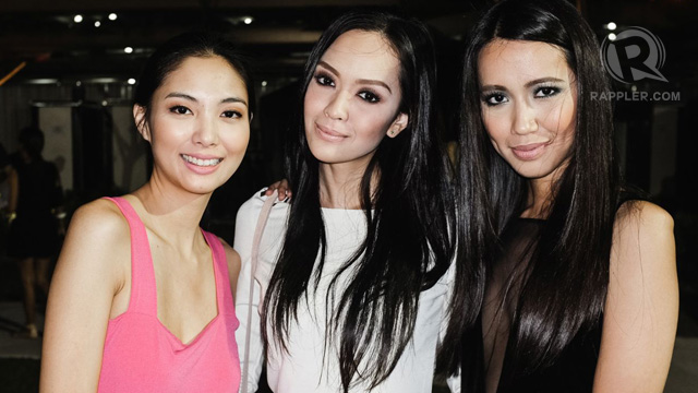 Ana Sideco, Giselle Paqueo and Michelle Penamanglor