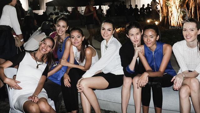 Ria Bolivar, Fatima Rabago, Ann Marie Umali, Jasmine Maierhofer, Pauline Prieto, Sam Gomez and Petra