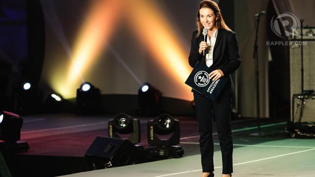 Kirstie Bennett of the Guinness Book of World Records