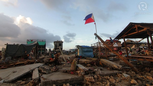 GROUND ZERO. The town of Hernani in Eastern Samar is witness to the fury of Typhoon Yolanda. Photo by Franz Lopez/Rappler