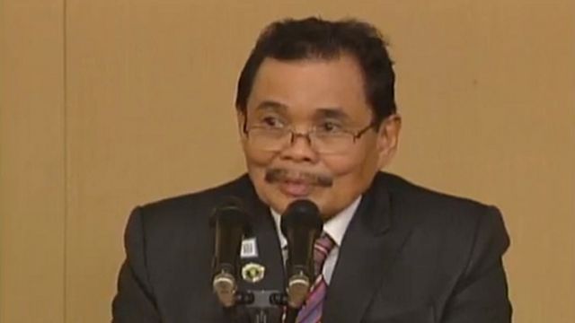 'I WANT TO REST.' MILF peace panel chairman Mohagher Iqbal says he looks forward to resting after fighting for more than 40 years. Screengrab from RTVM