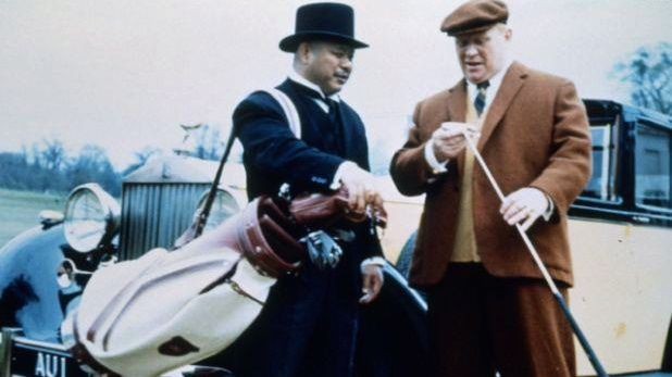 GOLDFINGER. A bowler hat that can slice in 1964. Image from the James Bond 007 Facebook page