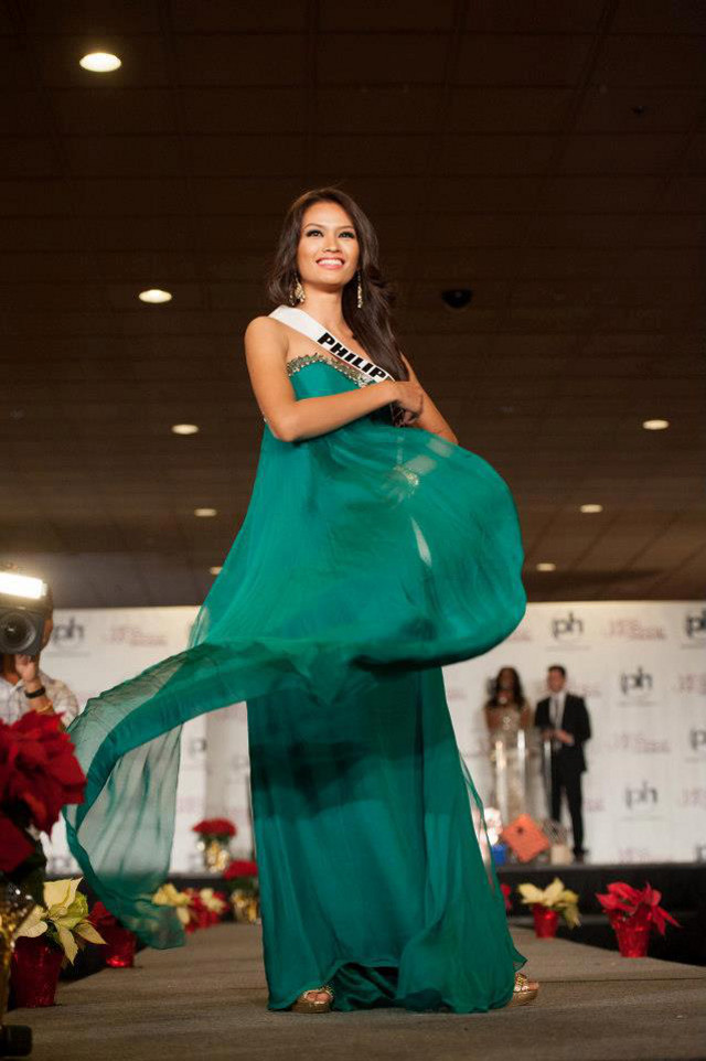 Janine Tugonon at the Miss Universe 2012 Welcome Event on December 6