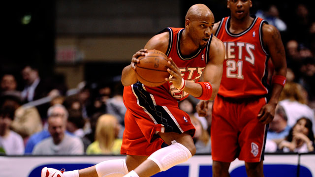 FORMER NET. Hayes during his NBA days with New Jersey. Photo by EPA/Jeff Zelevansky.